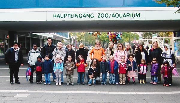 Zoo-Besuch